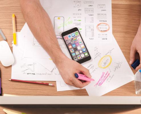 Création d'une application mobile